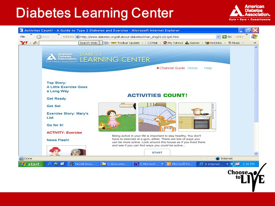 Diabetes Learning Center