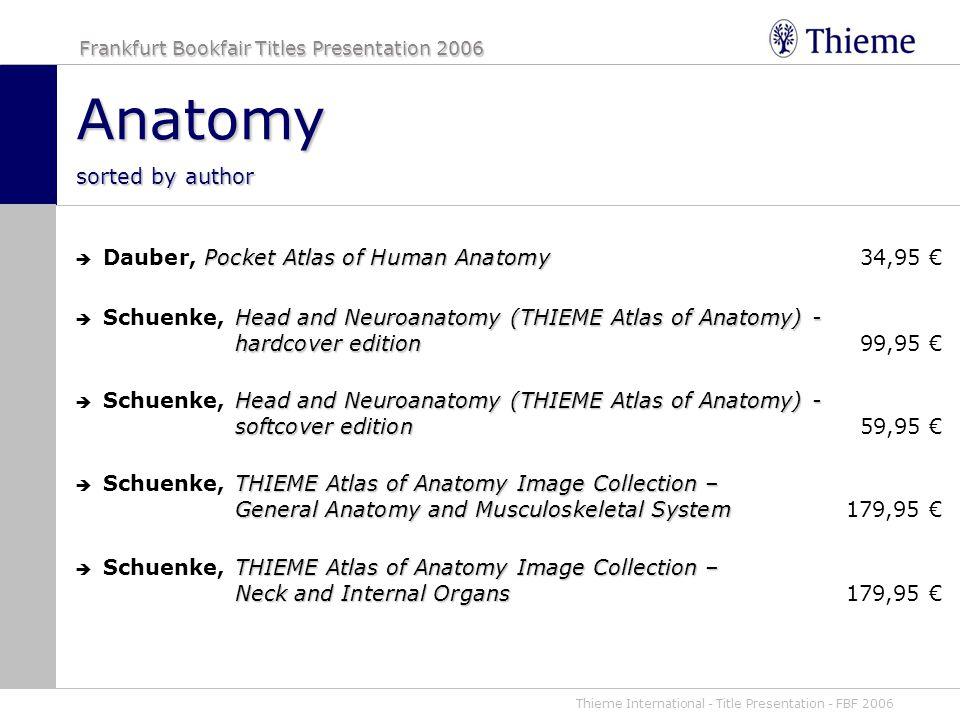 Fancy Thieme Atlas Of Anatomy Head And Neuroanatomy Images - Anatomy ...
