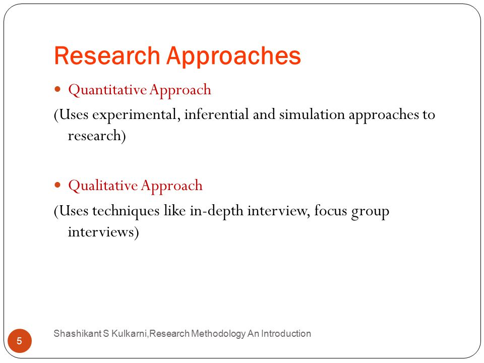 research methodology of a thesis