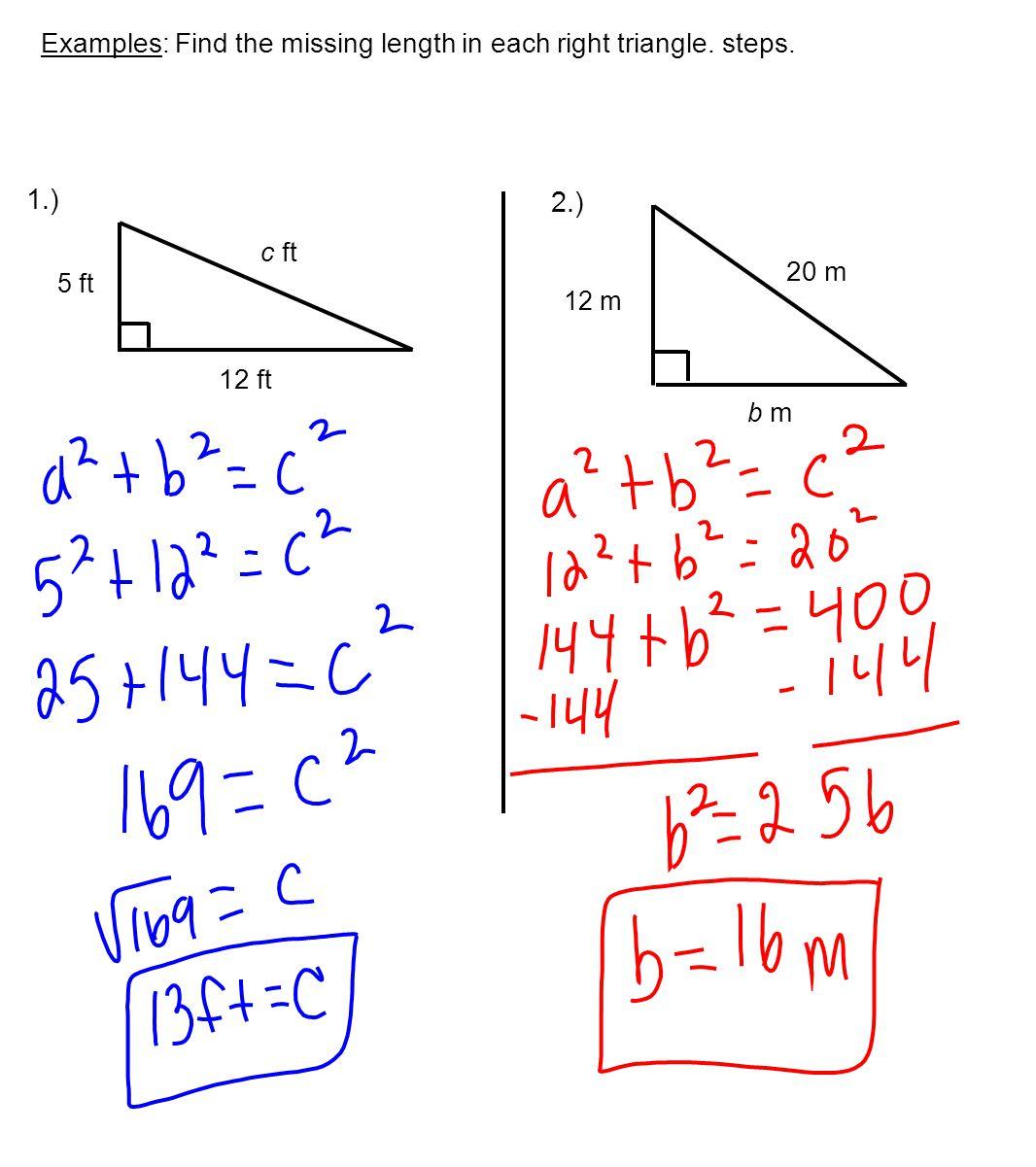 the Pythagorean Theorem the GradeA Way