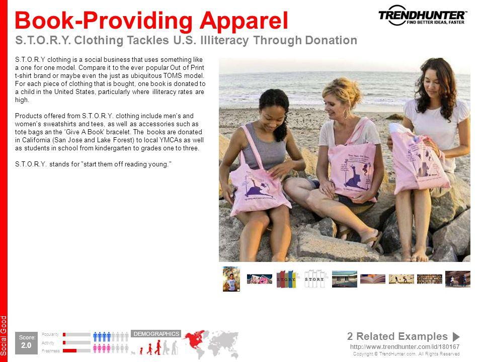 Social Good Book-Providing Apparel S.T.O.R.Y. Clothing Tackles U.S.