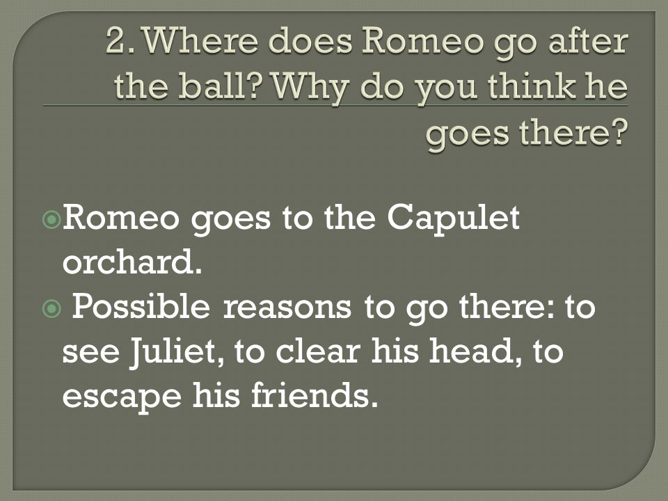 Compare the ways in which love is presented in 'Romeo and Juliet'.?