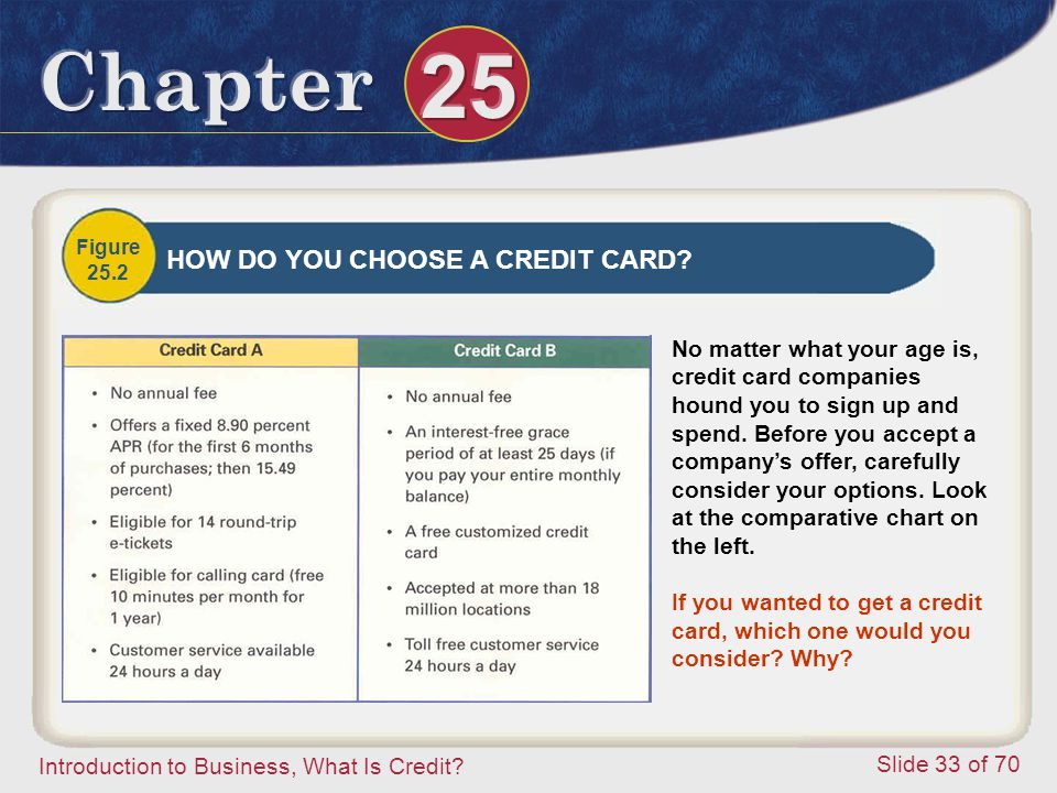 Introduction to Business, What Is Credit.
