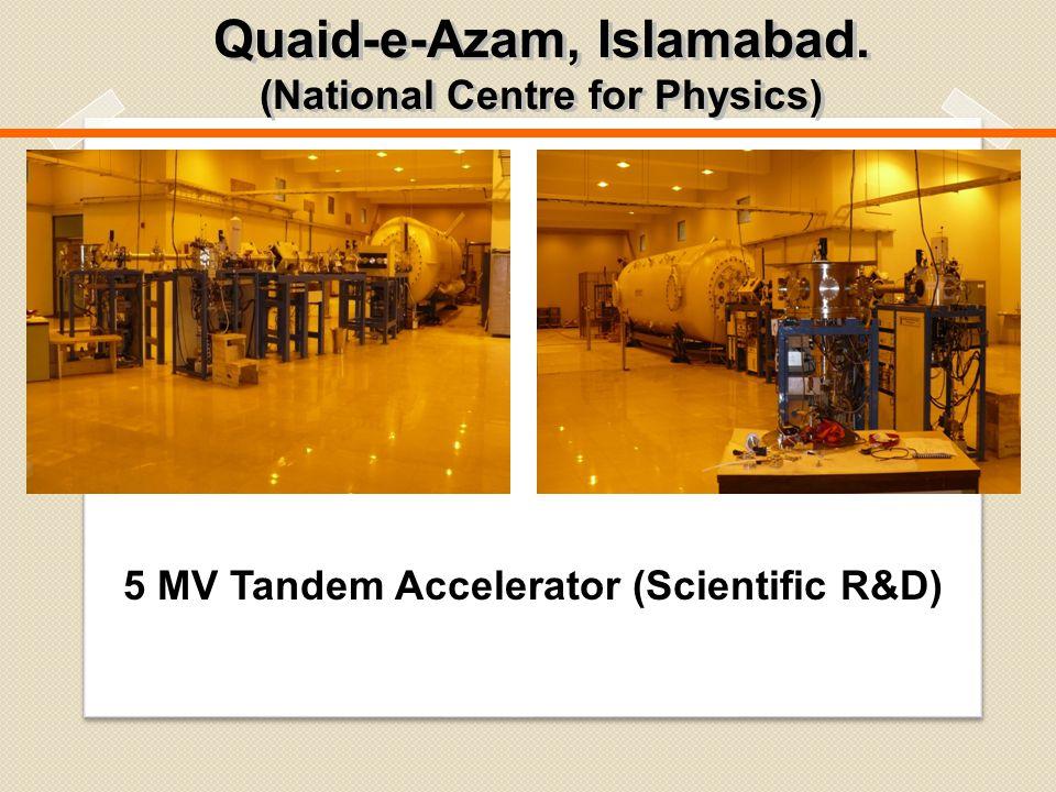 Quaid-e-Azam, Islamabad. (National Centre for Physics) Quaid-e-Azam, Islamabad.