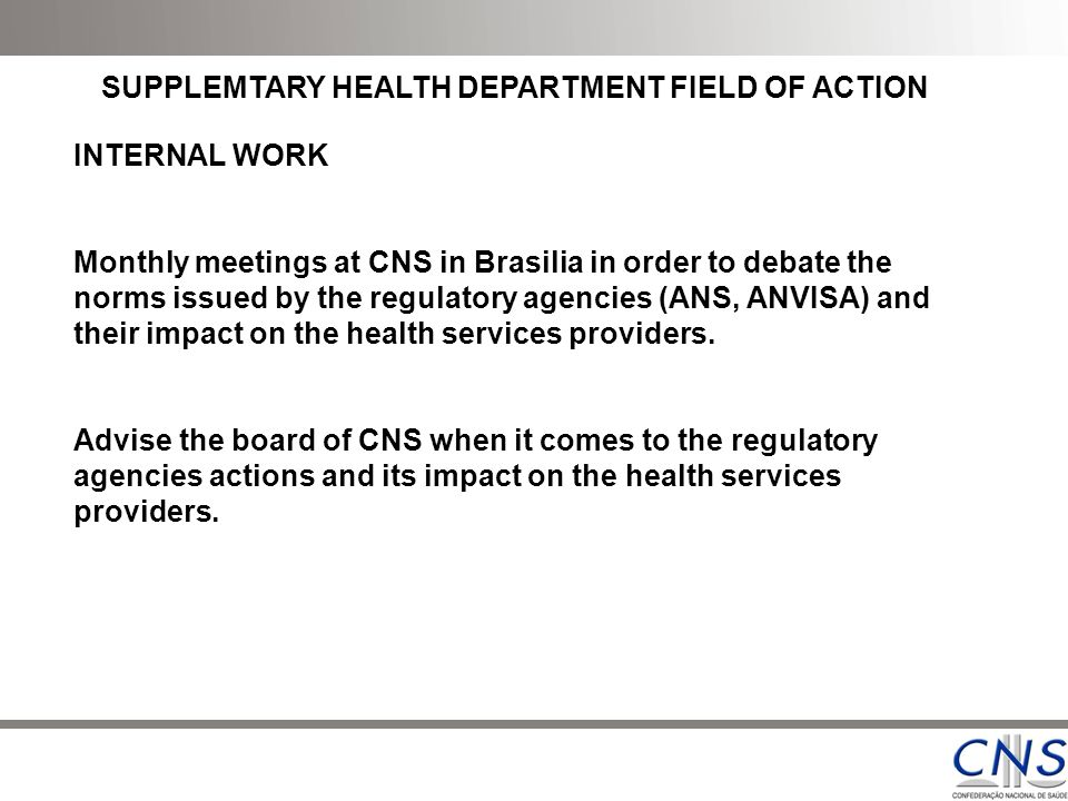 """the brazilian health surveillance agency anvisa Brazil's health surveillance agency expands the facilities for investors in life sciences by means of new rdc 4 october 2016 on august 25, 2016, brazil's national health surveillance agency (""""anvisa"""") granted a new resolution (""""rdc"""") to improve a bordering field of the product registration process."""