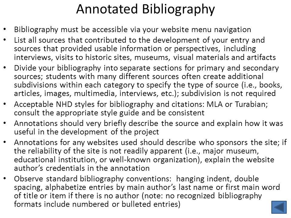 creswell guidelines for annotated bibliography An annotated bibliography is an organized list of sources with accompanying paragraphs, called annotations the purpose of the annotation is to inform the reader of the relevance, accuracy, and quality of the source, and to state how this source will be used in the paper or project.