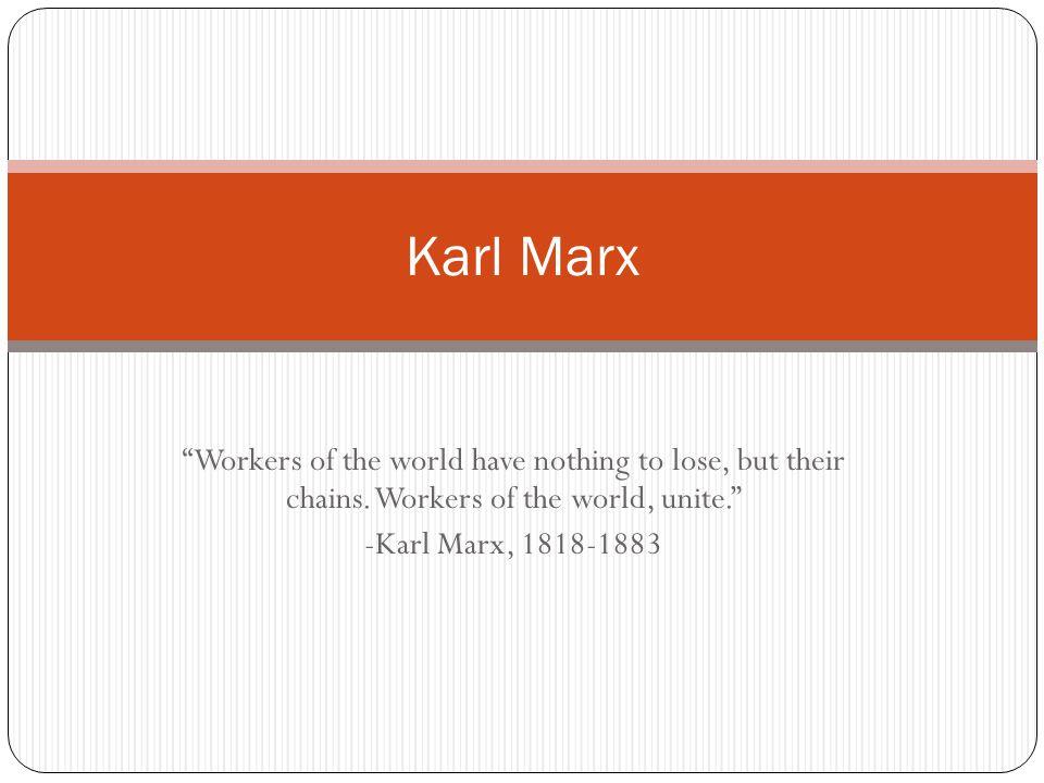 Dissertation On Karl Marx