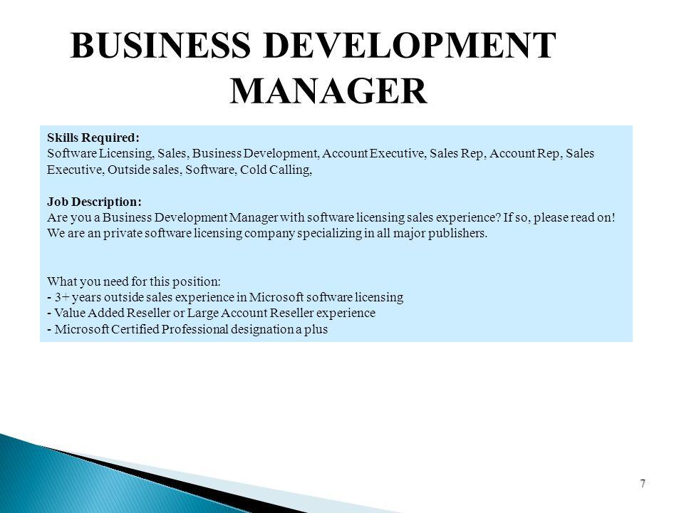 cold calling job description cotg jobs in chicago il glassdoor – Business Manager Job Description