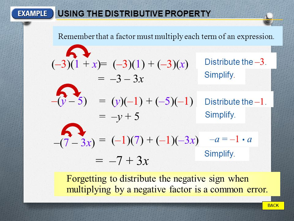 The distributive property combining like terms ppt download 3 y ccuart Gallery