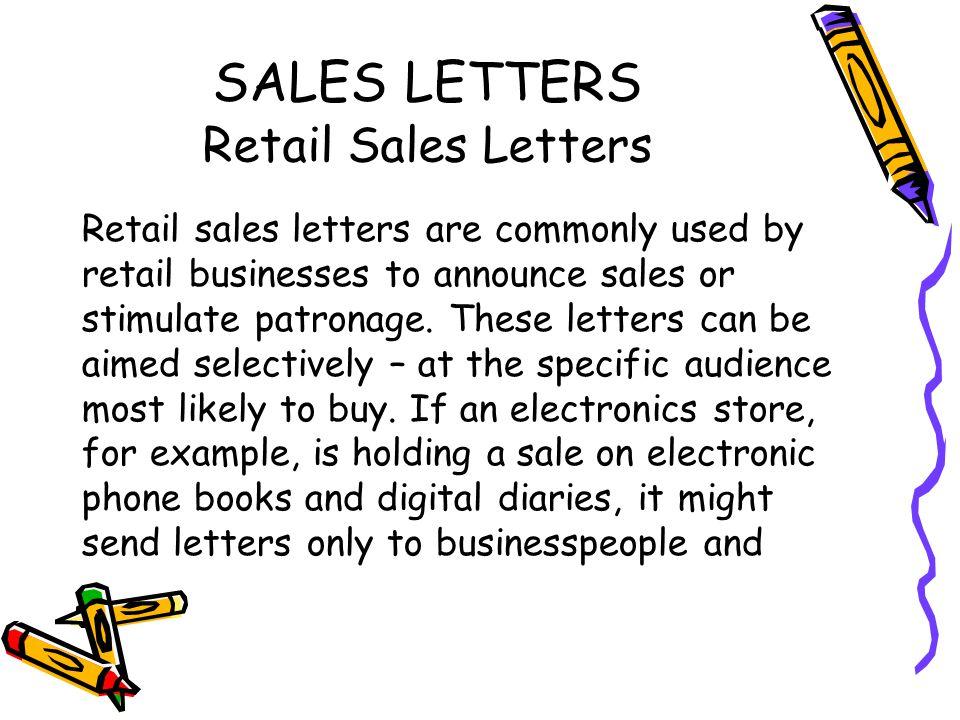 Doc694951 Sample Sales Letter Template Sales Letter Template – Sales Letters Example