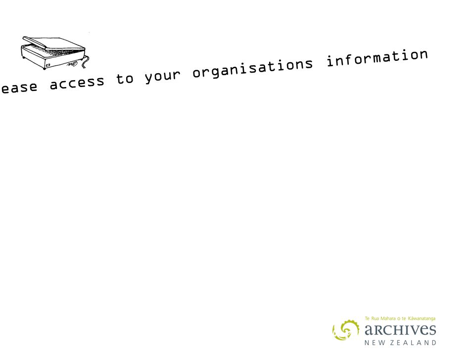 increase access to your organisations information