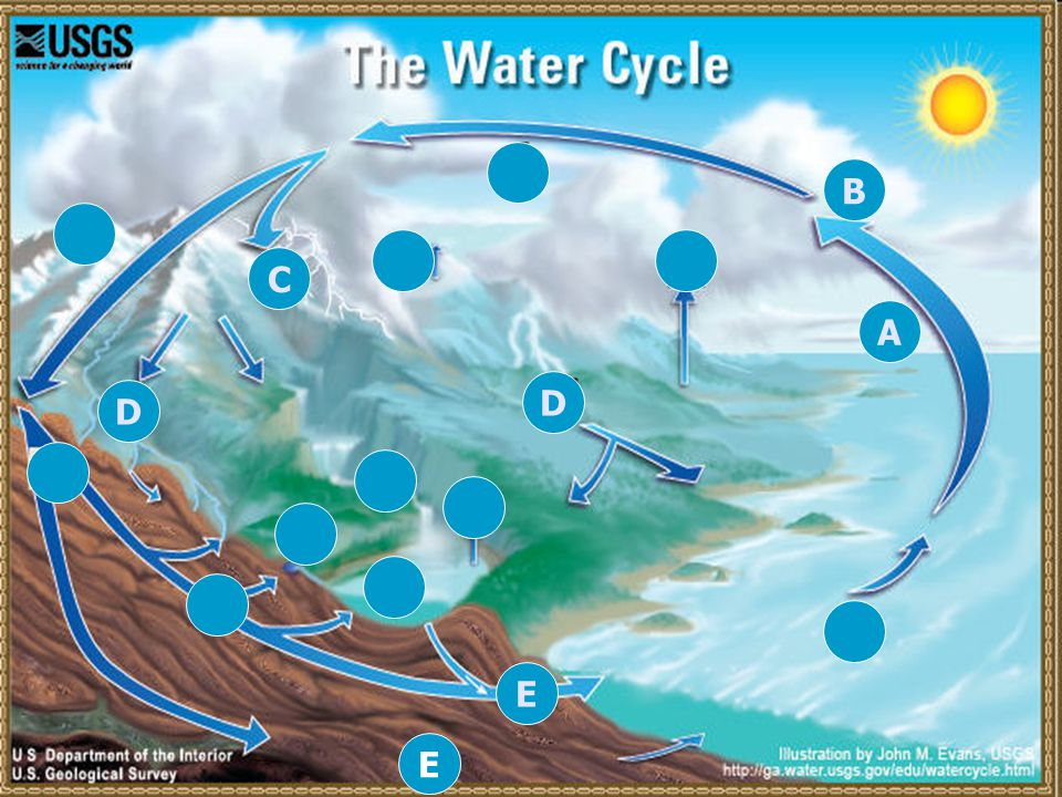 The water cycle written by renny fong new york ny ppt download a e b c d e d ccuart Image collections