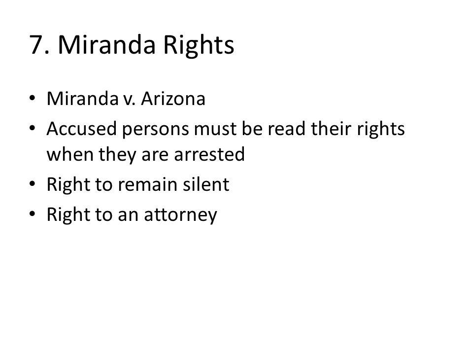 Miranda V Arizona Essay Help | Forum