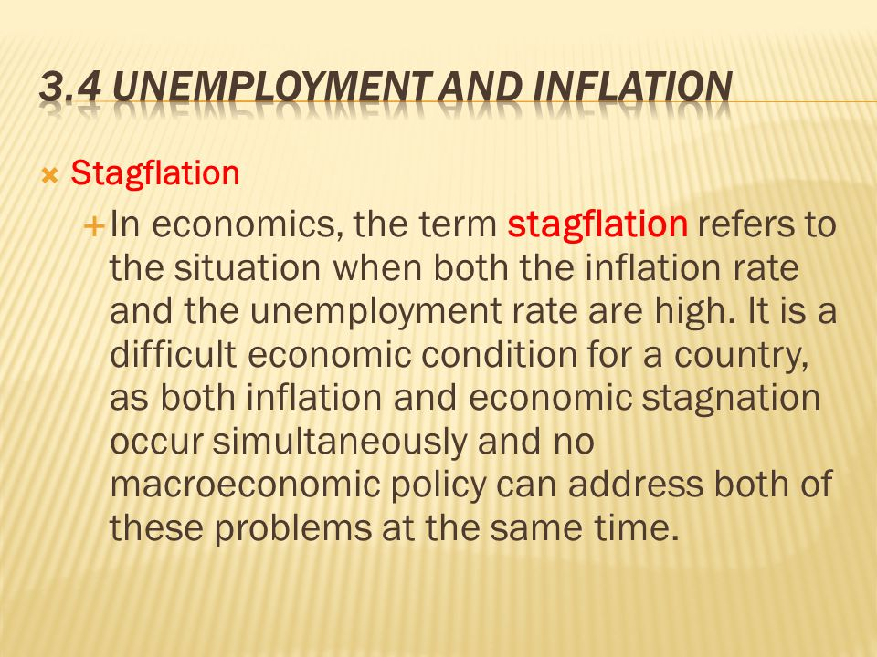 Is the economy headed for long-term stagflation?