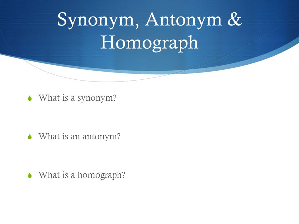 Antonym for presentation questing Fully understand the energetic ...