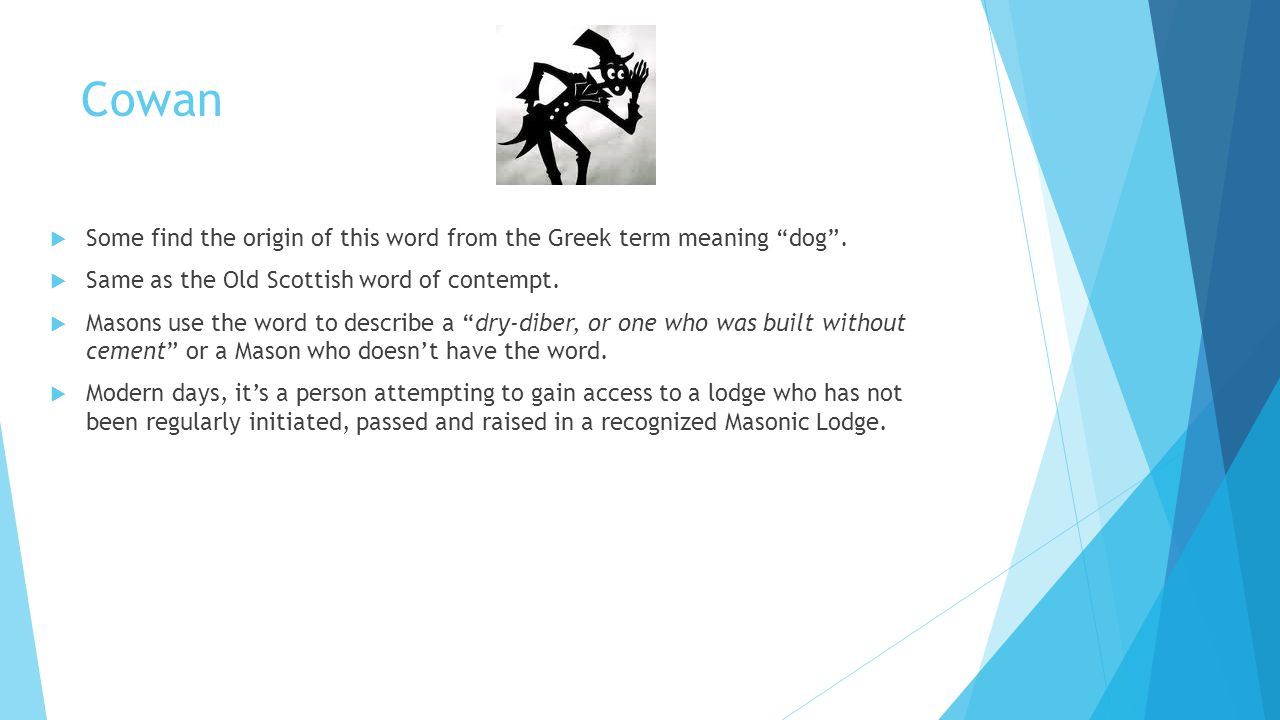 Significance of symbolism in freemasonry welcome lodge no 255 fa cowan some find the origin of this word from the greek term meaning dog biocorpaavc Image collections