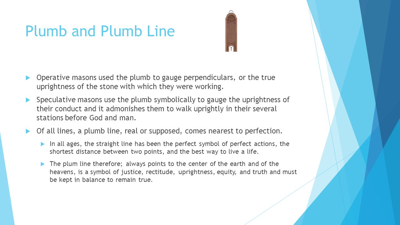 Significance of symbolism in freemasonry welcome lodge no 255 f 26 plumb biocorpaavc Images