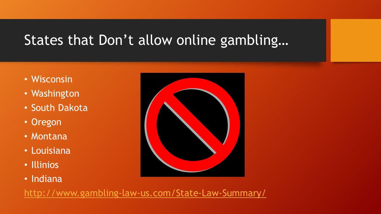Online gambling wisconsin discover gambling