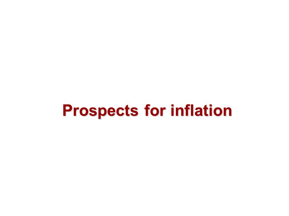 Prospects for inflation