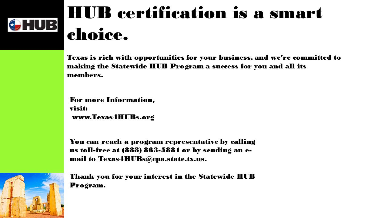 State contracting and the hub program be hub certified be ready 12 hub certification 1betcityfo Choice Image