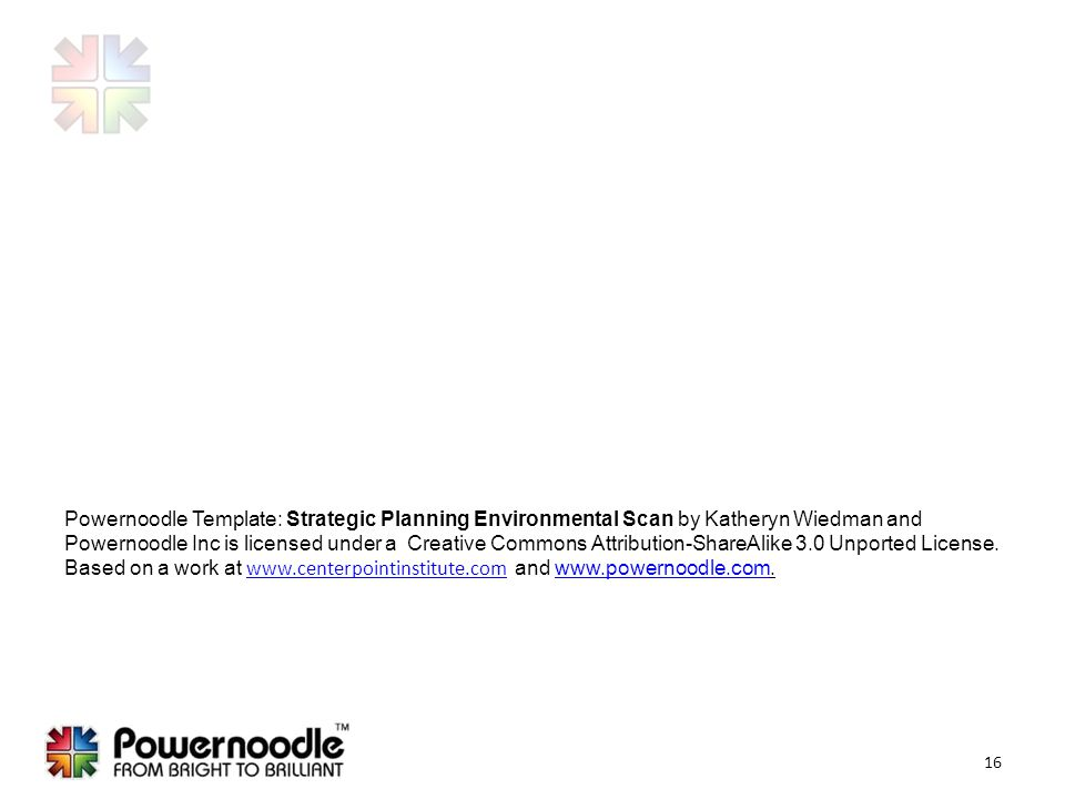 Strategic planning the environmental scan ppt download powernoodle template strategic planning environmental scan by katheryn wiedman and powernoodle inc is licensed under pronofoot35fo Images