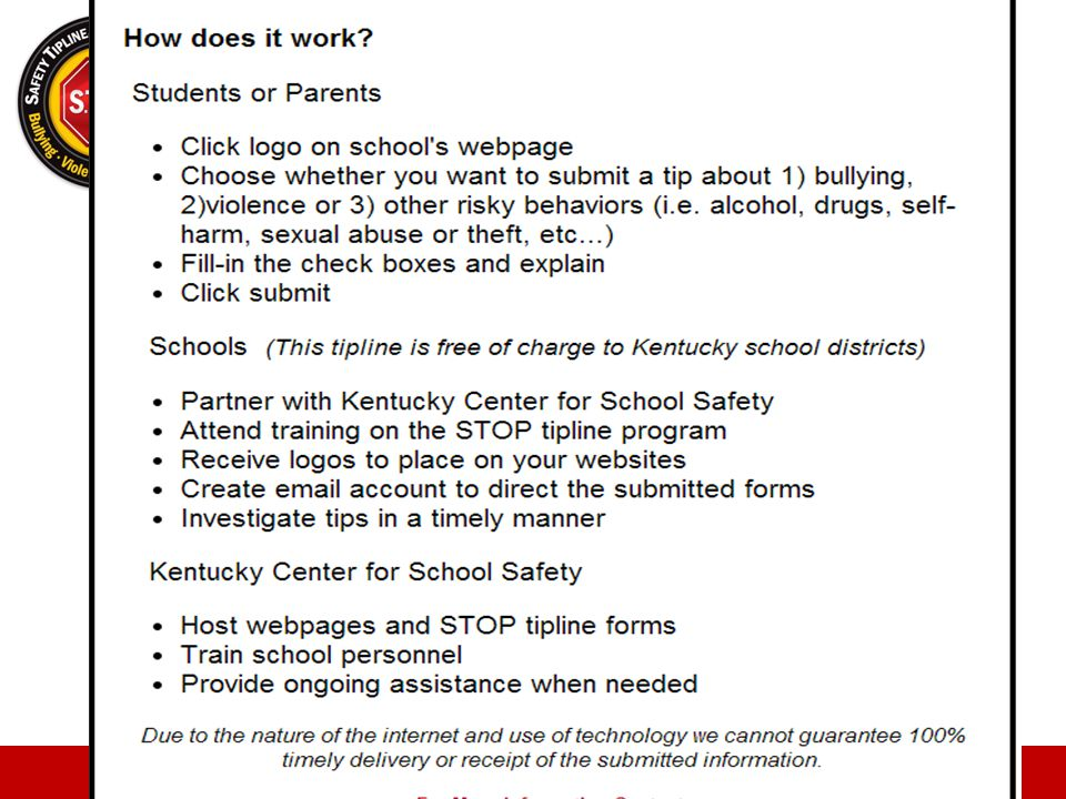 school safety tips
