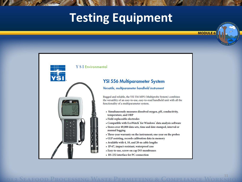11 Testing Equipment