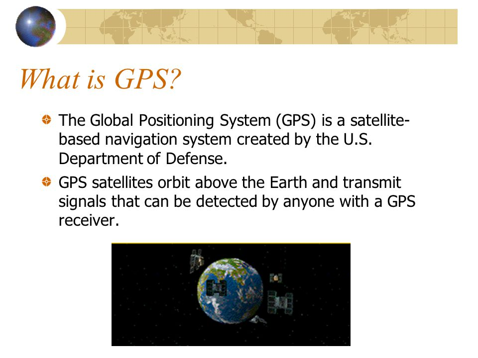 What is GPS.