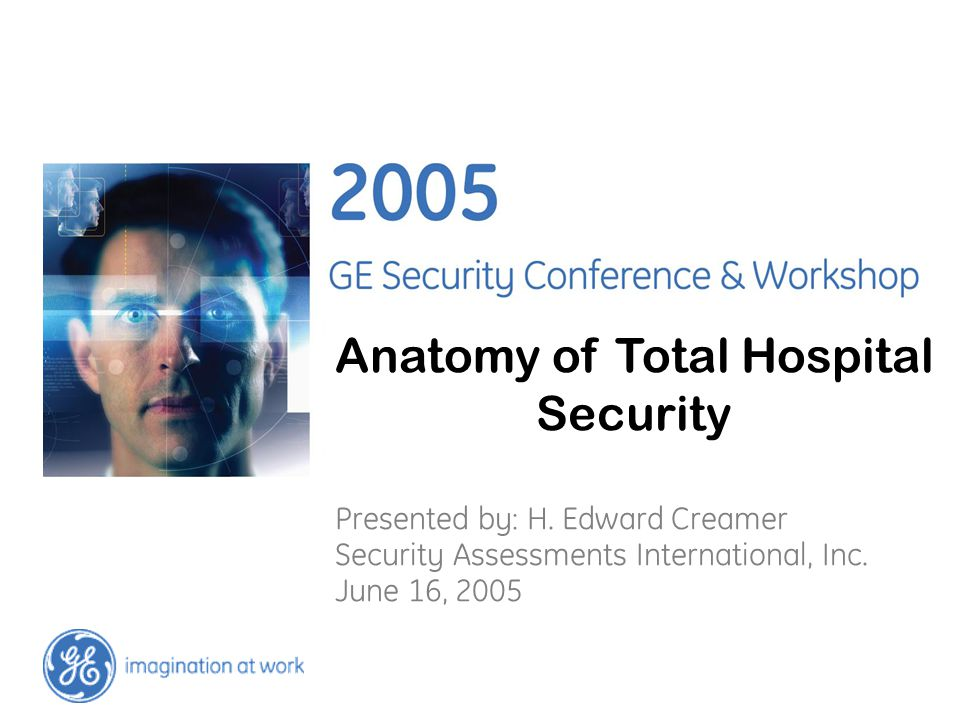 Anatomy of Total Hospital Security Presented by: H.