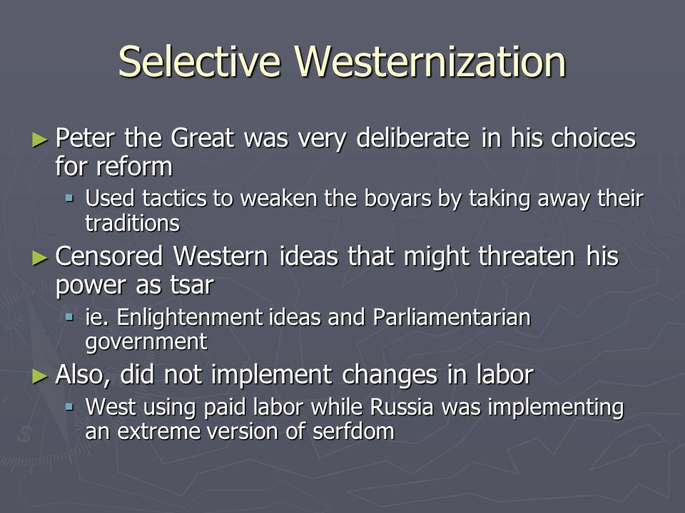 advantages of westernization