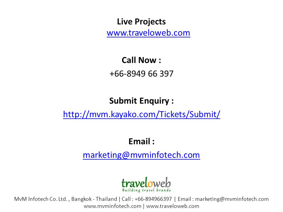 Live Projects     Call Now : Submit Enquiry :     MvM Infotech Co.
