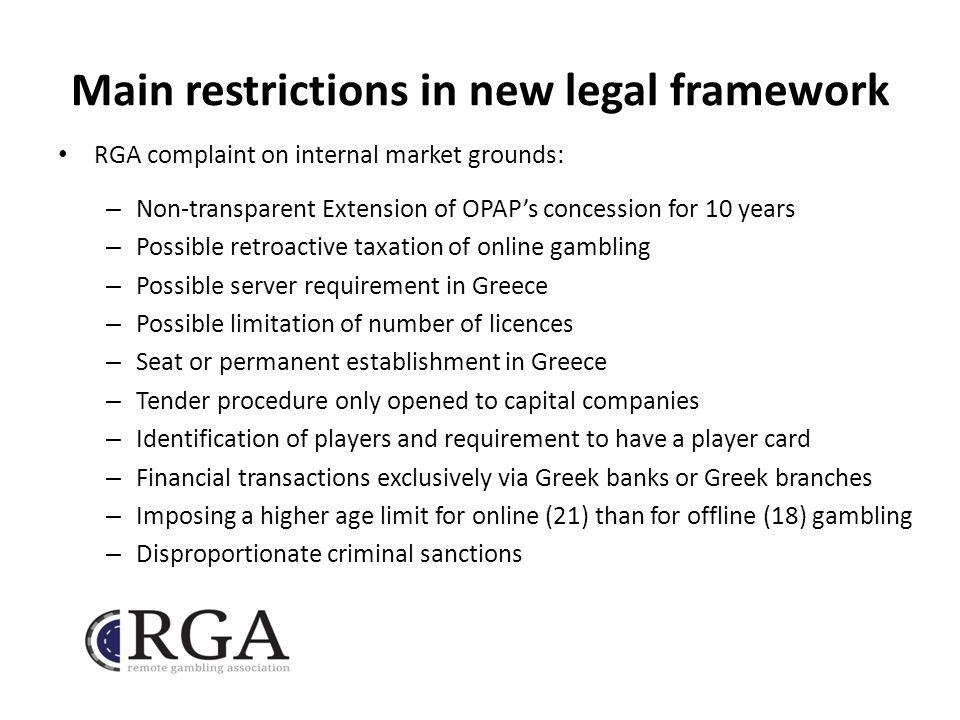 On online gambling in the internal market bugsy siegel casino