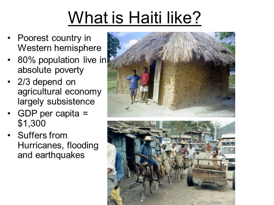 Haiti Case Study Ppt Download - Is haiti the poorest country in the world