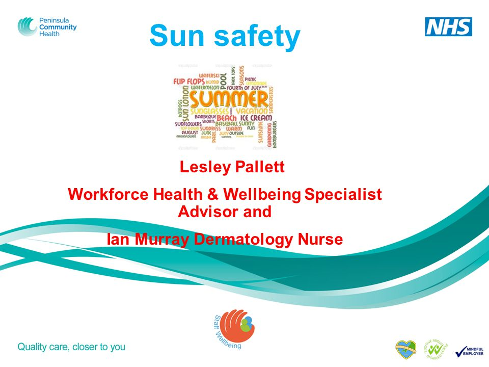 Aims and objectives To be aware of What skin cancer/skin damage is How it can be detected How you can reduce your risk