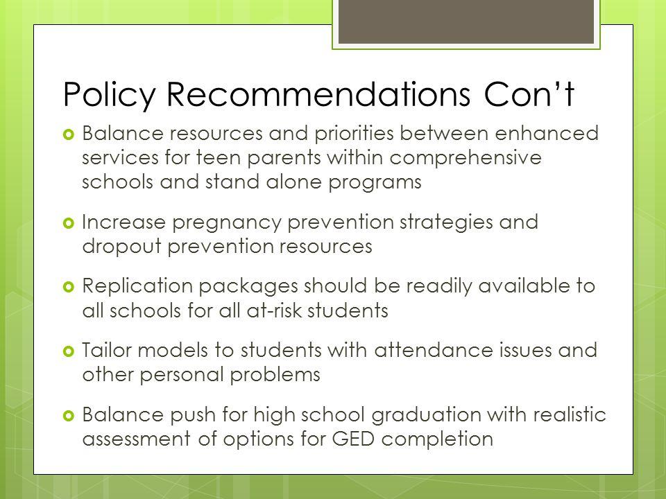 teen pregnancy prevention strategy essay