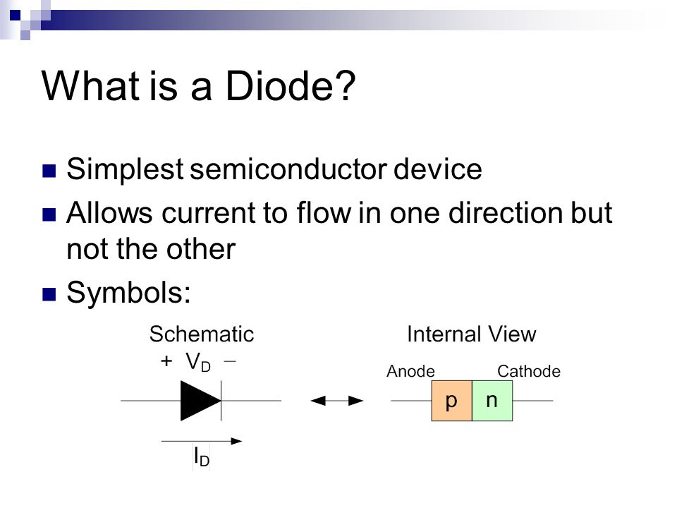 What is a Diode.