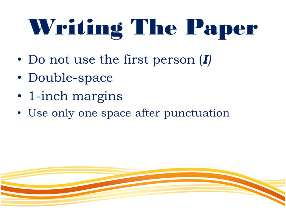 writing a paper on three factors Writing a successful research paper is not easy work there are no shortcuts to be taken as one sits down to choose a topic, conduct research, determine methodology, organize (and outline) thoughts, form arguments or interpretations, cite sources, write the first draft, and.