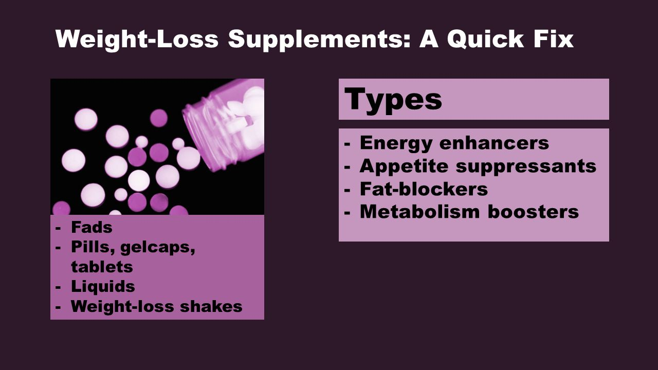 Health supplement to lose weight