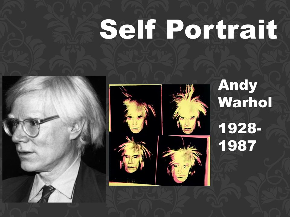 Self Portrait Andy Warhol