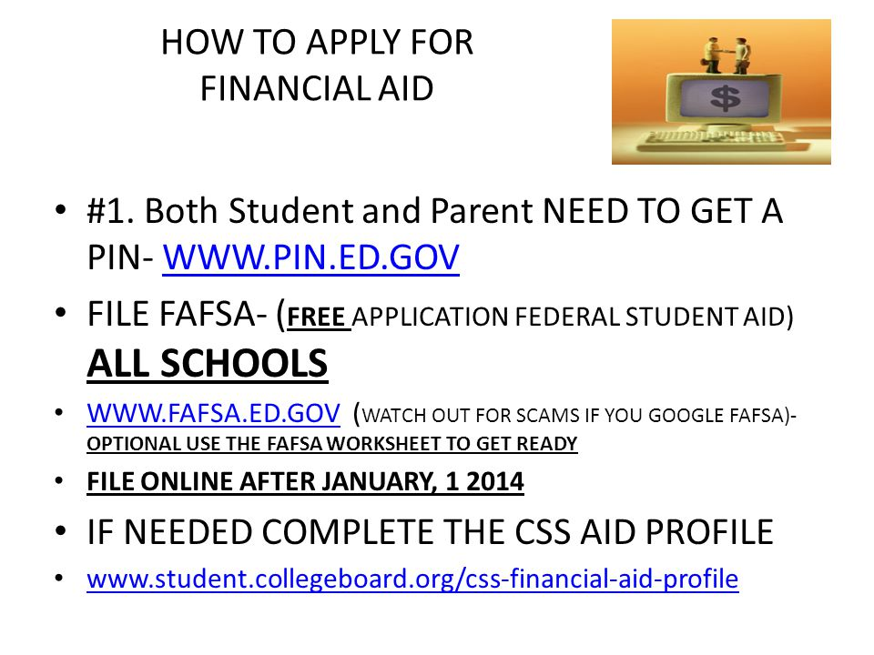 College Financing Workshop. Workshop Agenda Getting ready- the ...