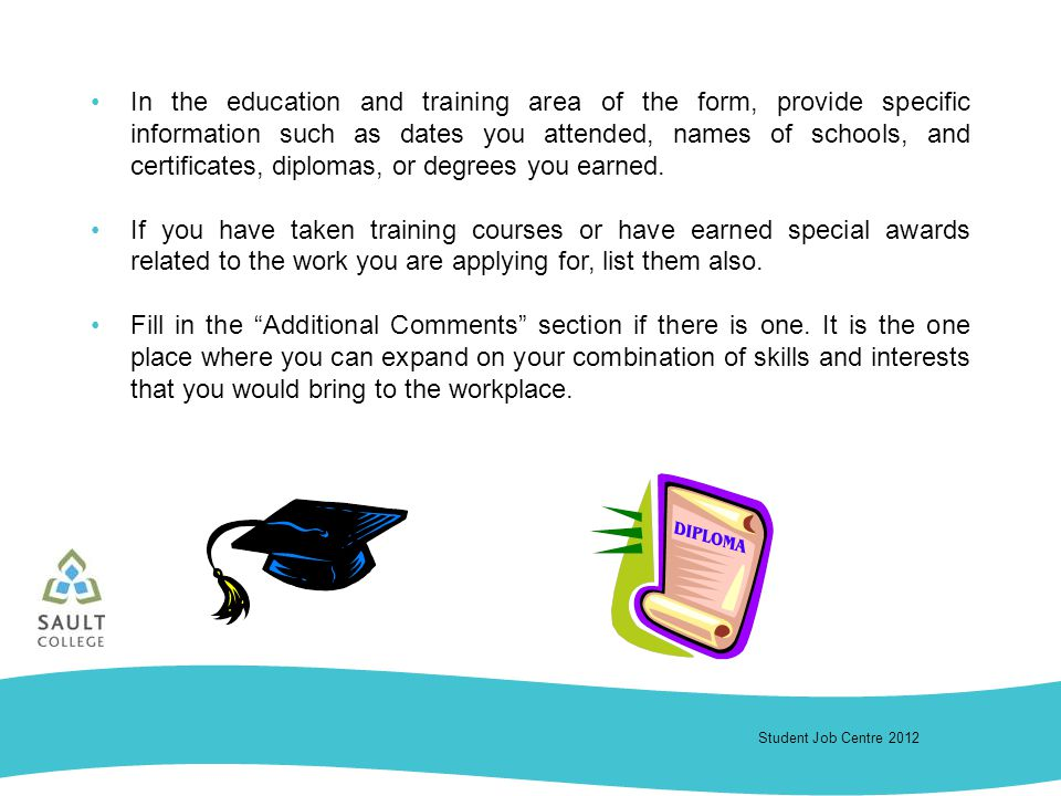 Student Job Centre 2012 Sault College Career Essentials Tips For