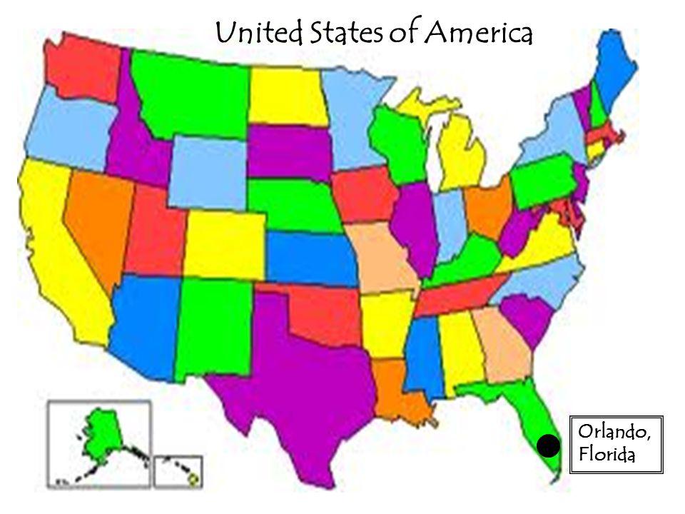 Map Of Disney Theme Parks Around The World Orlando Florida - Orlando florida on us map