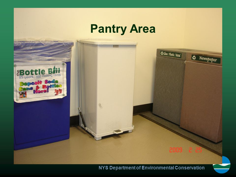 NYS Department of Environmental Conservation Pantry Area