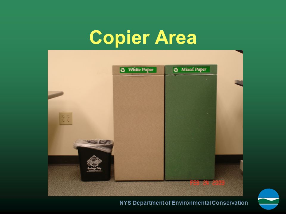 NYS Department of Environmental Conservation Copier Area