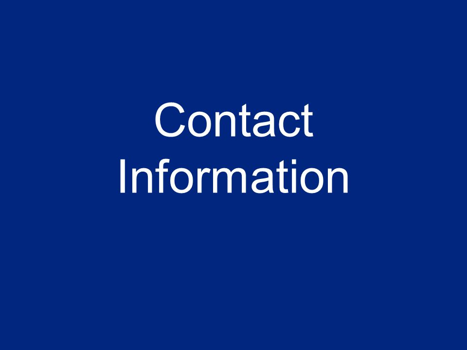 57 Contact Information