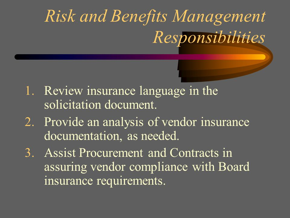 Legal Department Responsibilities 1.Review and approve solicitation documents.