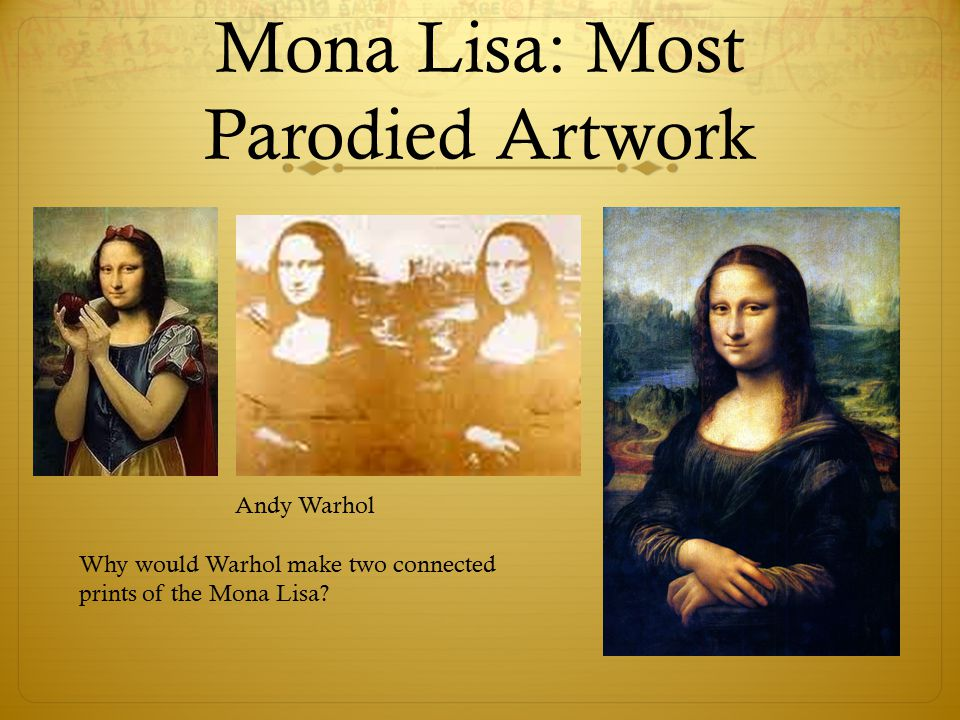 Super Leonardo Da Vinci's Mona Lisa. Mona Lisa: The Facts  Painted in  BH45