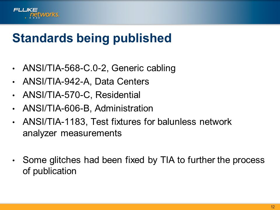 slide_12 activity in tia tr 42 bob jensen tr 42 chair tr 42 responsibility Tia-568-C.2 Cat 6 at crackthecode.co