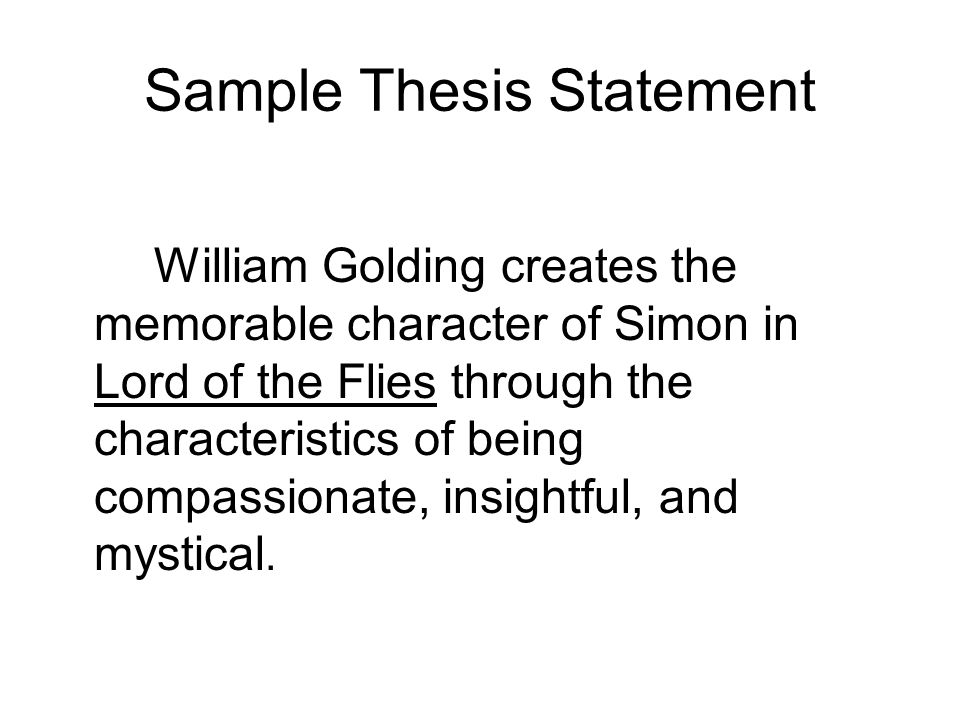 sample thesis essay sample personal statement essay how to write a ...