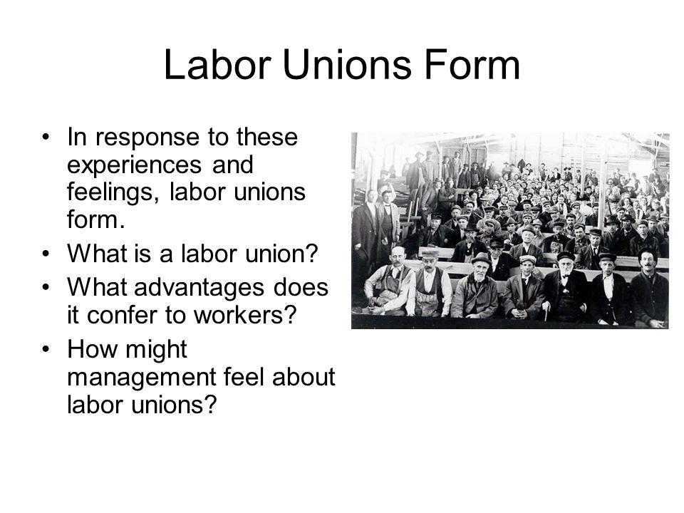dbq essay on labor unions